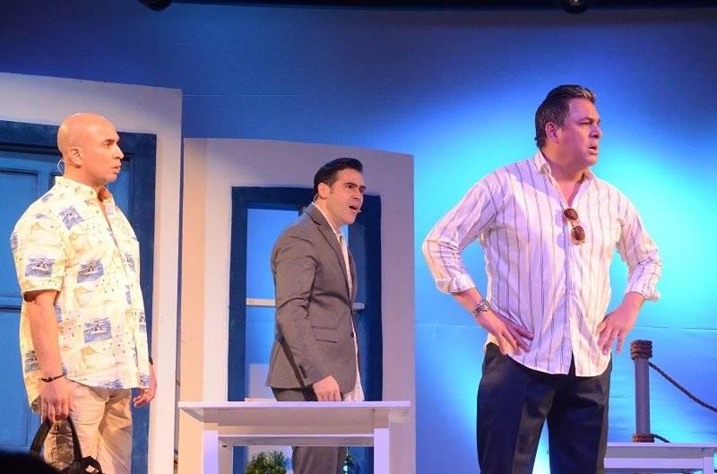 Irvin Alberti, Daniel Sarcos y José Guillermo Cortines