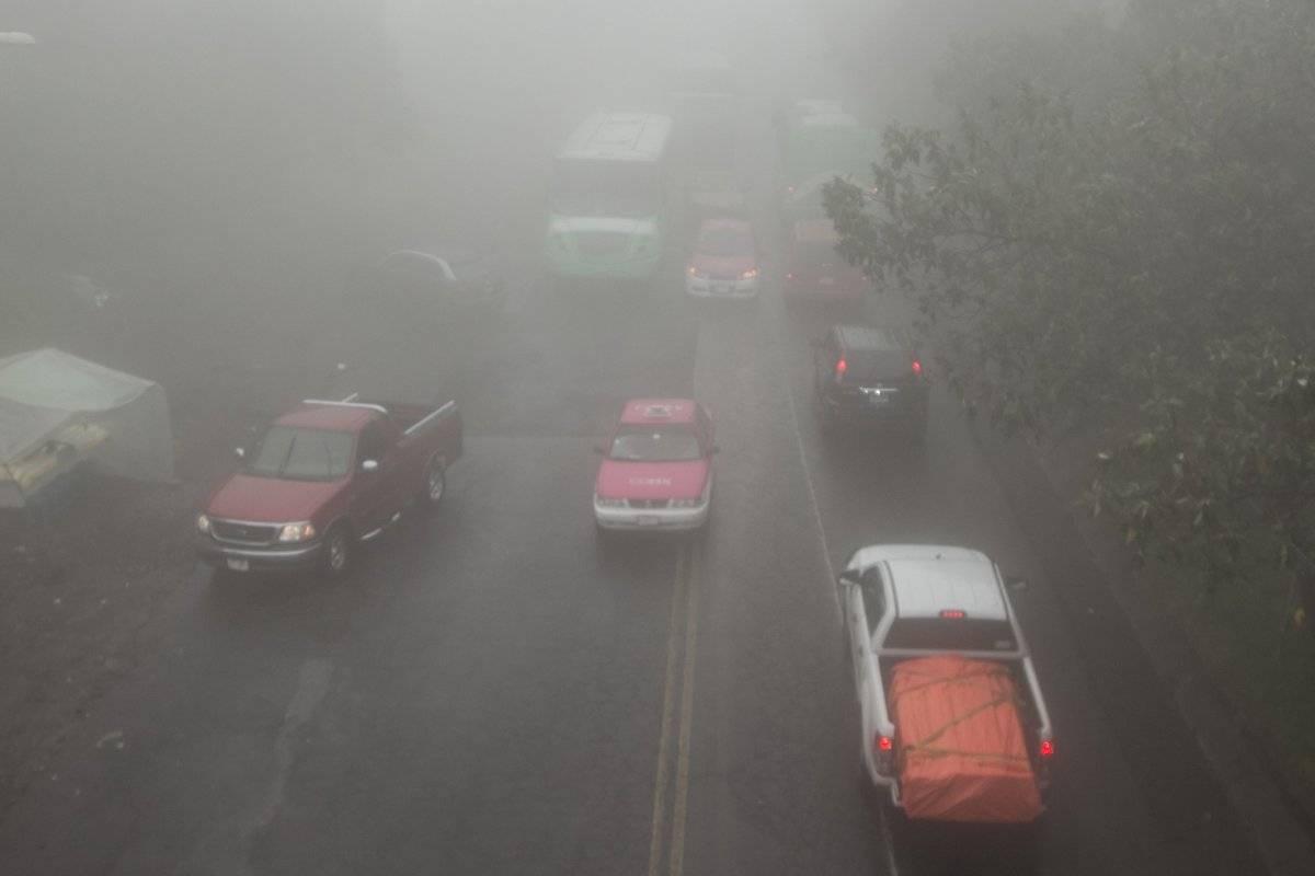 Neblina Ajusco Foto: Cuartoscuro