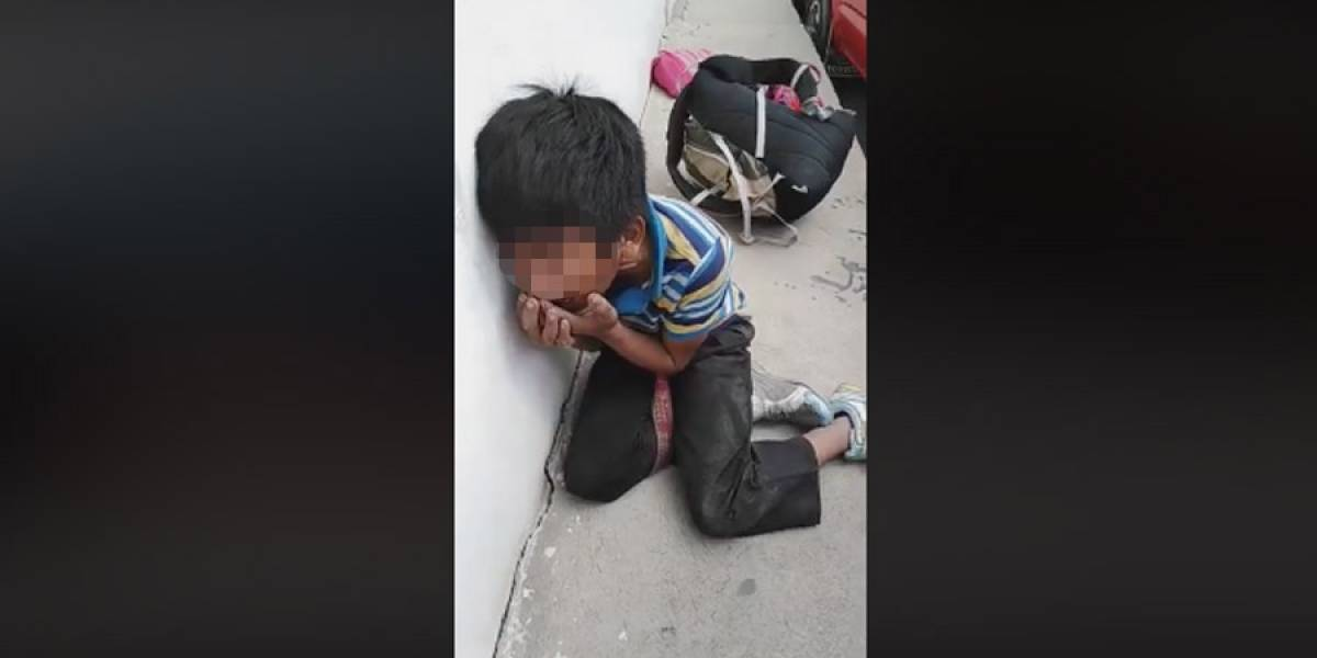 No localizan a familia de niño que fue golpeado en Huehuetenango