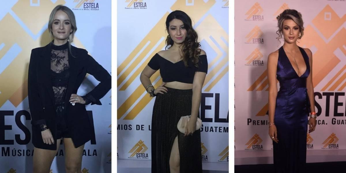 Noche de glamour y talento en los premios Estela a la música nacional