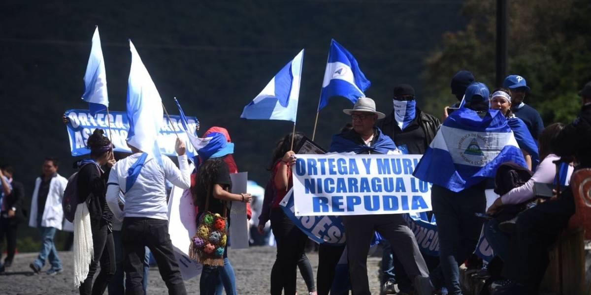 EN IMÁGENES. Participación de Daniel Ortega en Cumbre Iberoamerica agita repudio en La Antigua