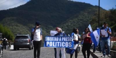 Protesta contra Daniel Ortega