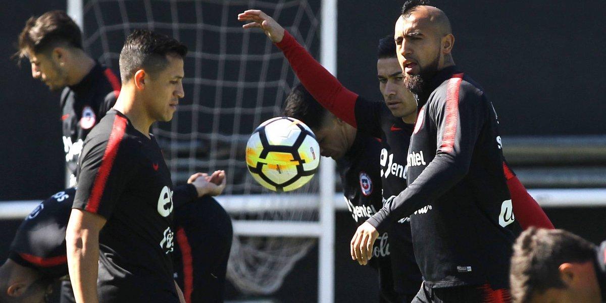 Rueda sigue sin encontrar su equipo predilecto en la Roja y probará nuevas fórmulas ante Costa Rica