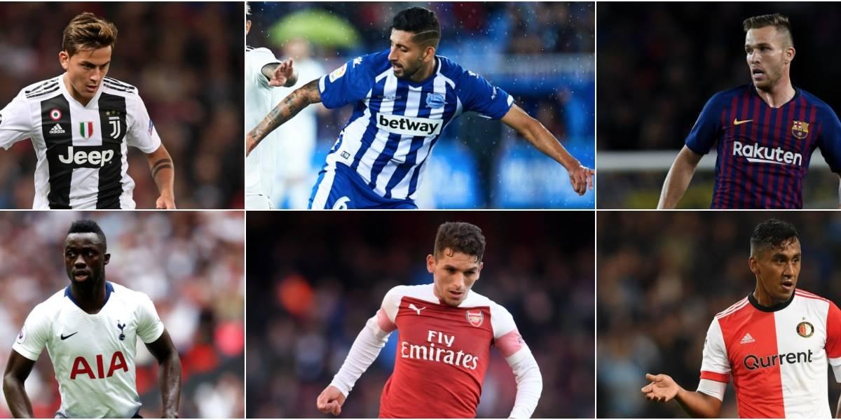 Maripán, Dybala, Arthur, Torreira: Los nombres llamados a tomar el protagonismo en las selecciones de Sudamérica