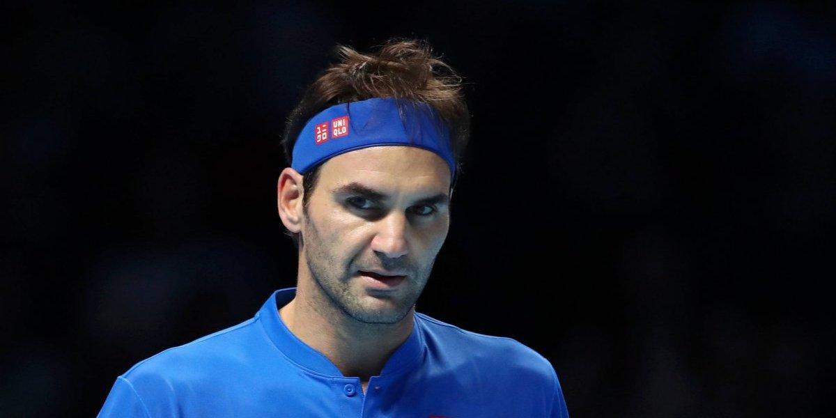 Roger Federer clasificó a su décima quinta semifinal de la Copa Masters