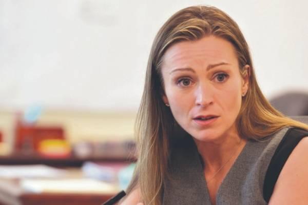 Julia Keleher, secretaria del Departamento de Educación. archivo
