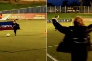 VIDEO: La reacción de Shakira al ver el golazo de su hijo
