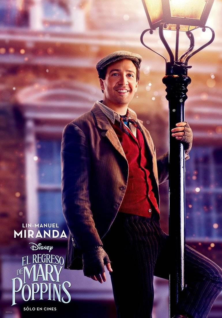 JACK (Lin-Manuel Miranda), un viejo amigo de Mary Poppins, es un encantador y optimista farolero. Disney