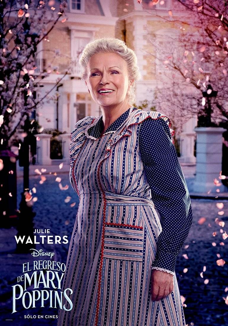 ELLEN (Julie Walters) es la ineficiente, aunque bienintencionada ama de llaves de los Banks. Disney