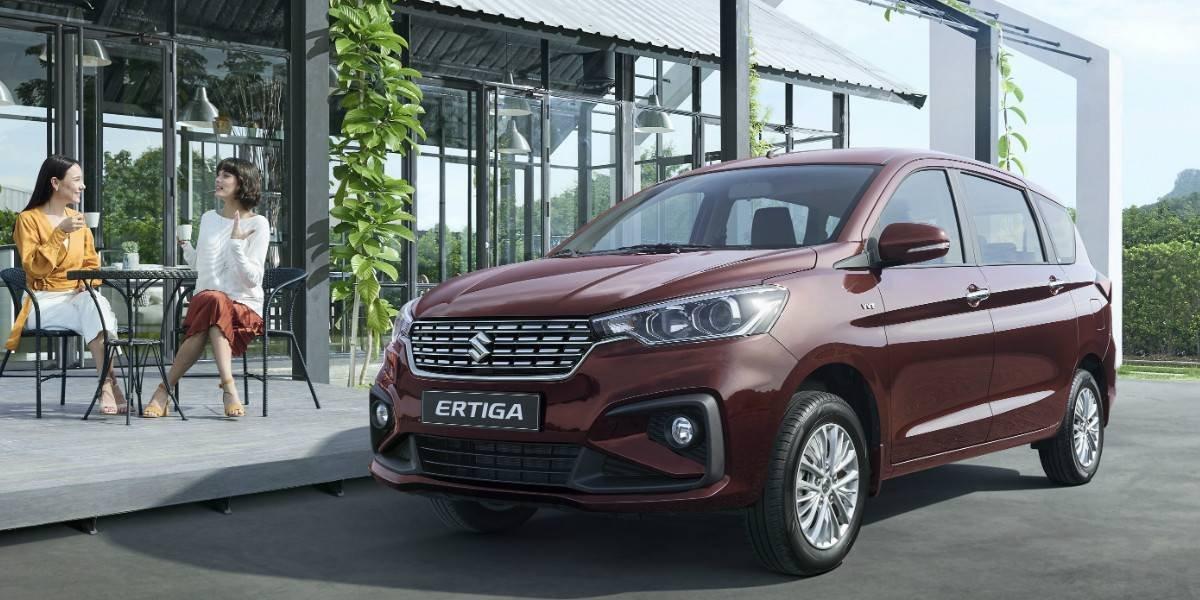 Suzuki actualiza y mejora su minivan Ertiga
