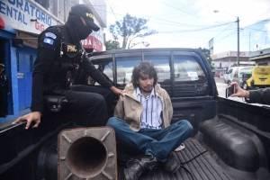 PNC detiene a Marco Melvin Aguilar García