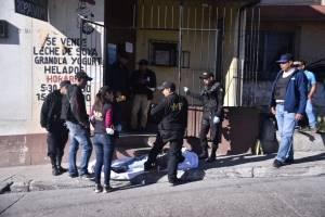 Víctima de la violencia en Villa Nueva.