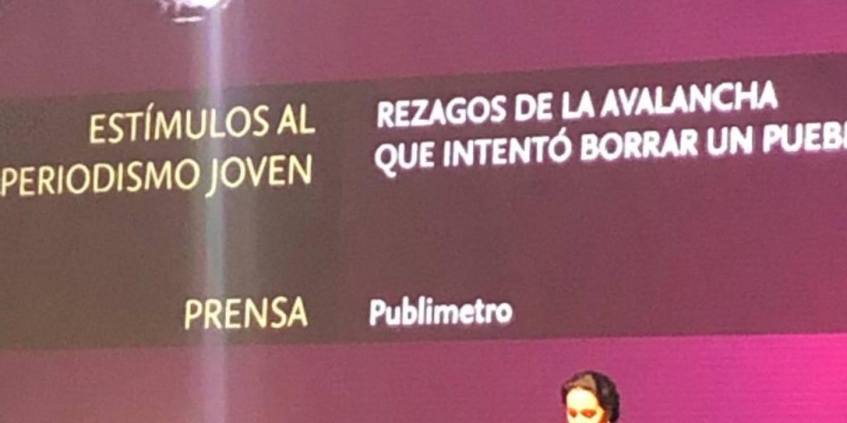 Publimetro presente en los Premios de Periodismo Simón Bolívar
