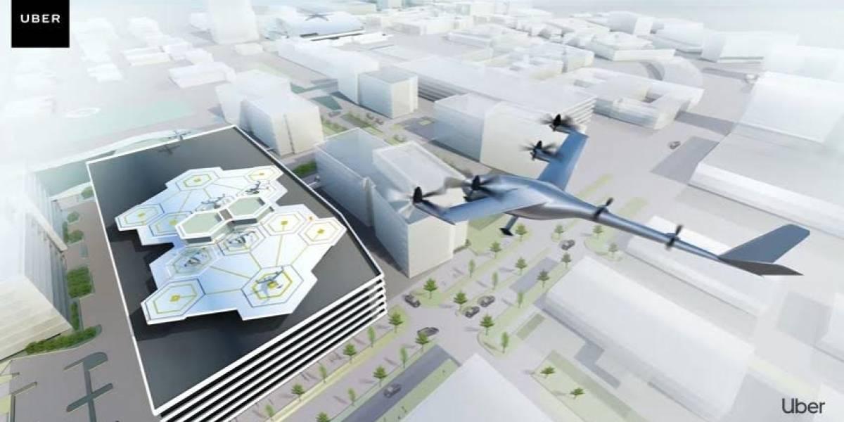 Taxis voladores serán una realidad en 2023 para Uber