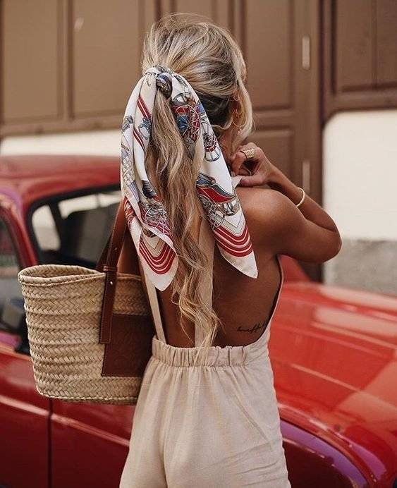 Cola de caballo: Un peinado clásico, pero con un toque que añadirá estilo a tu outfit. / Foto: Pinterest
