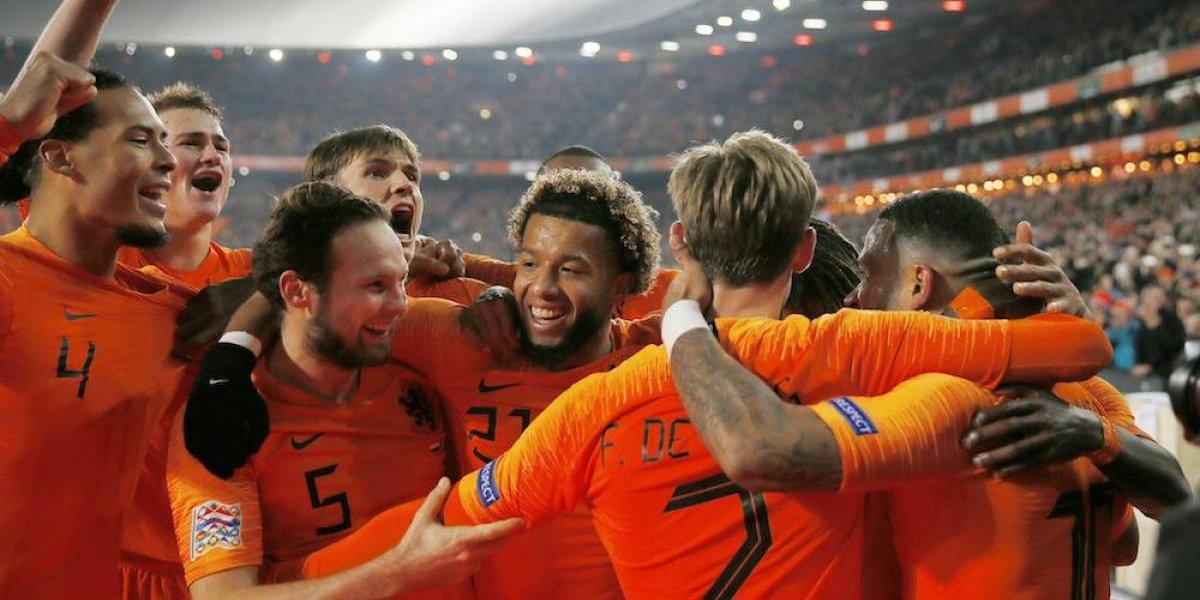 La Naranja mecánica certifica el descenso de Alemania en la Liga de Naciones