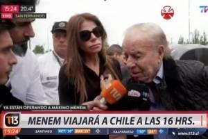 Carlos Menem alzó la voz:
