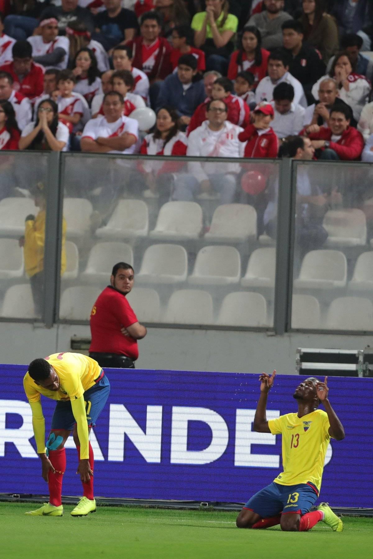 Perú vs. Ecuador EFE