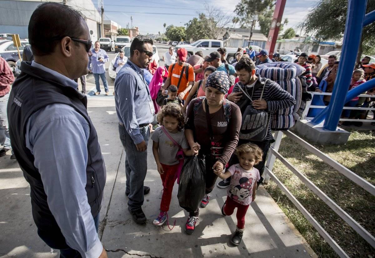 Llegan más migrantes a BC Foto: Cuartoscuro