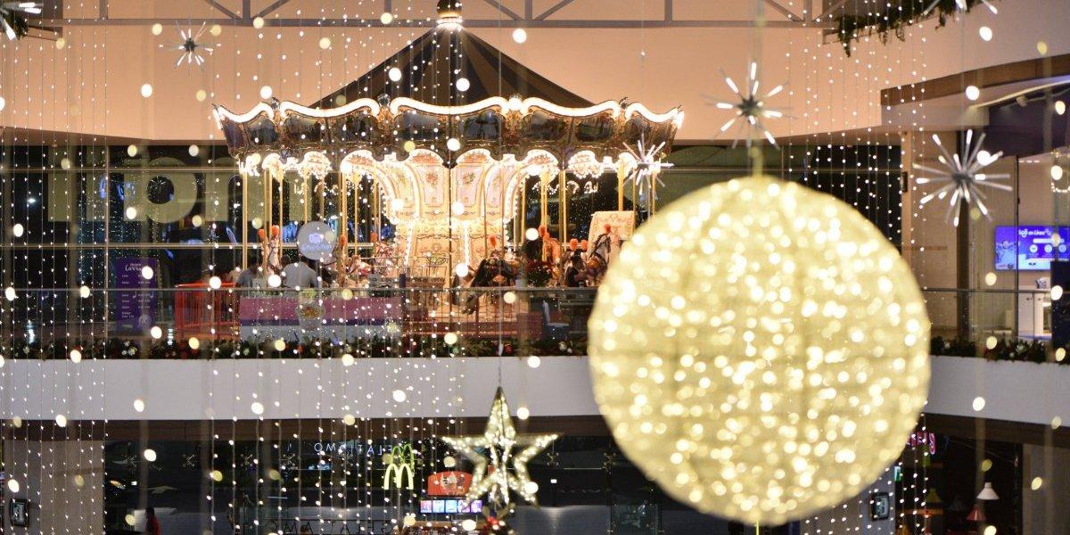 La decoración de estos centros comerciales que te hará amar la temporada navideña