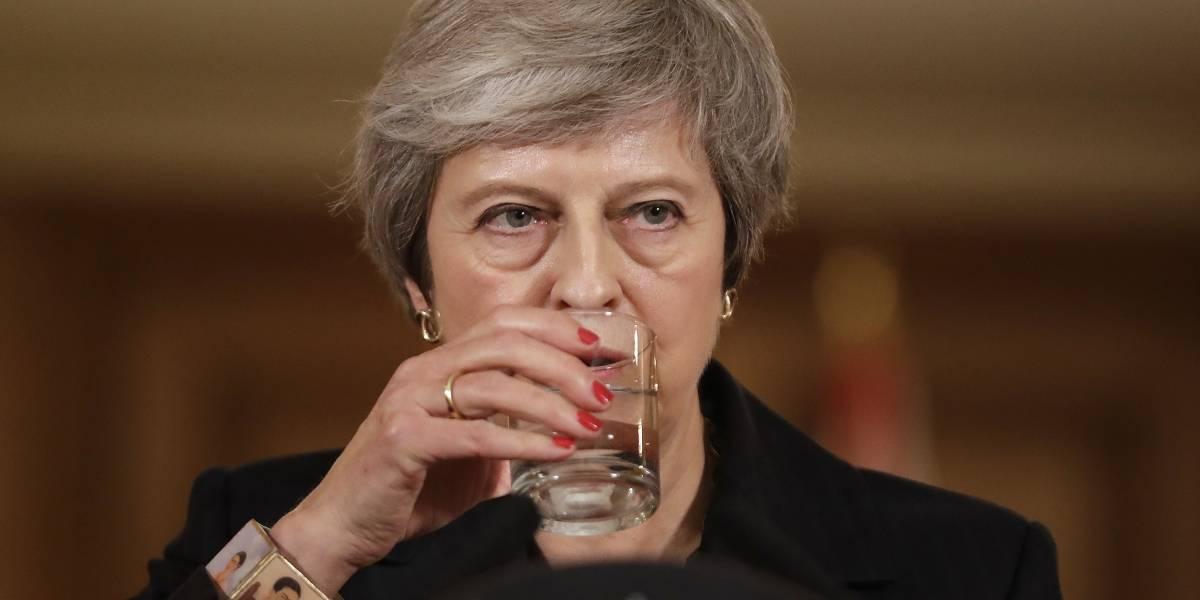 Theresa May podría estar en sus últimos días al frente de Reino Unido