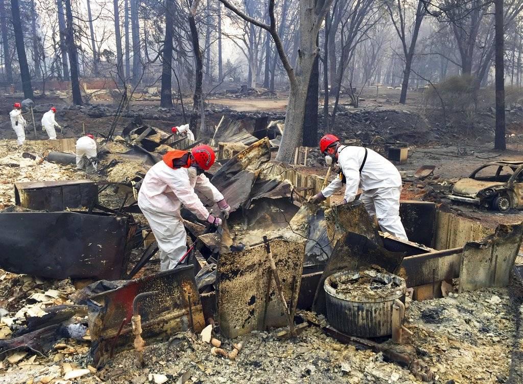 incendios en California. AP