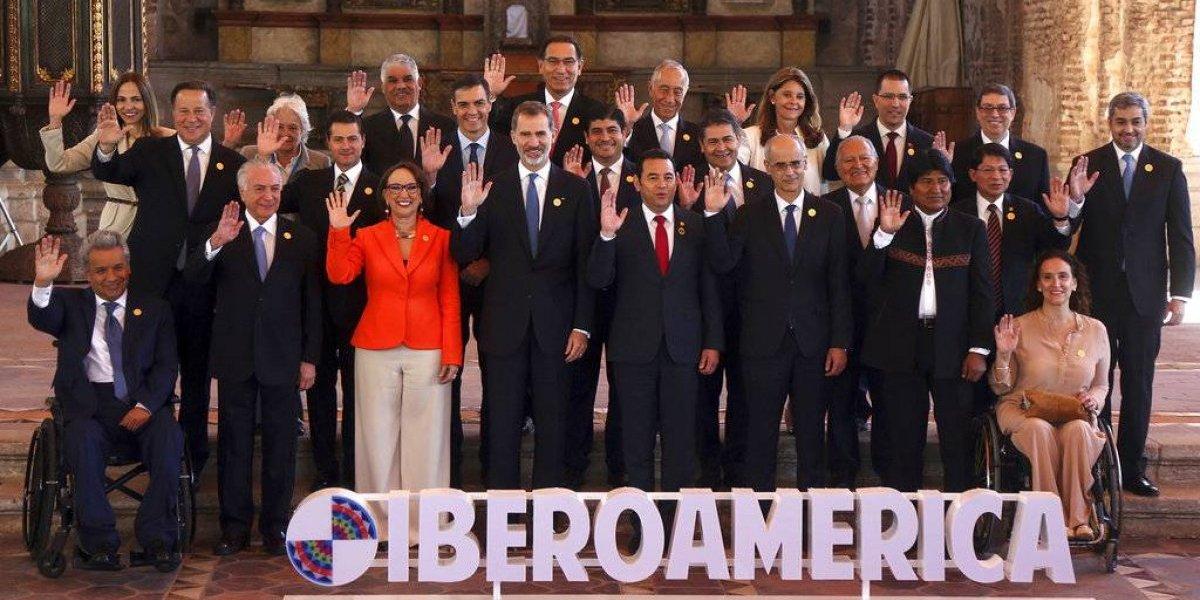 Nicaragua y Venezuela son los puntos de fricción en la XXVI Cumbre Iberoamericana de Jefes de estado y gobierno