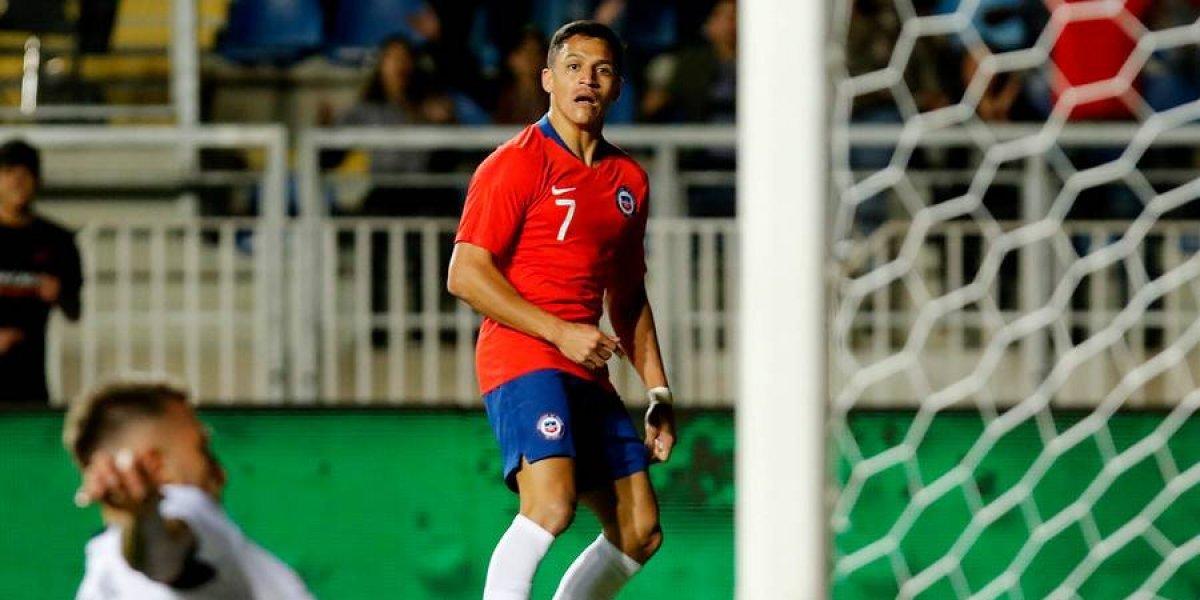 Alexis Sánchez llega a 40 goles con Chile y agiganta su leyenda como máximo anotador histórico de la Roja