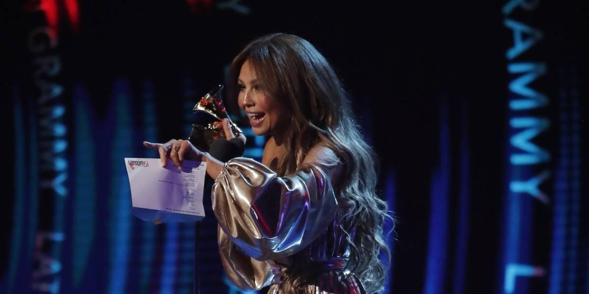 Grammy Latino: El incómodo momento que vivió Thalía por Luis Miguel