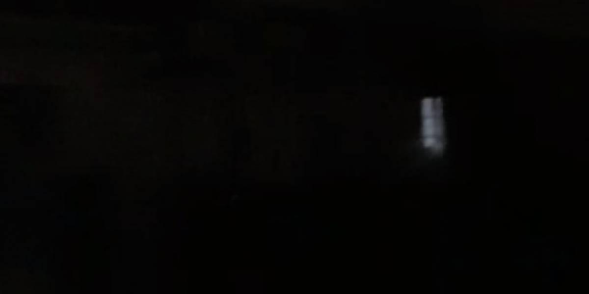 La noche de miedo que se convirtió en viral: captan terrorífico fenómeno paranormal en hospital abandonado en plena tormenta
