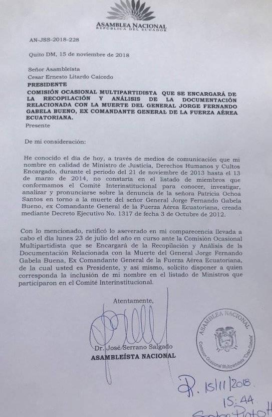 documento de José Serrano