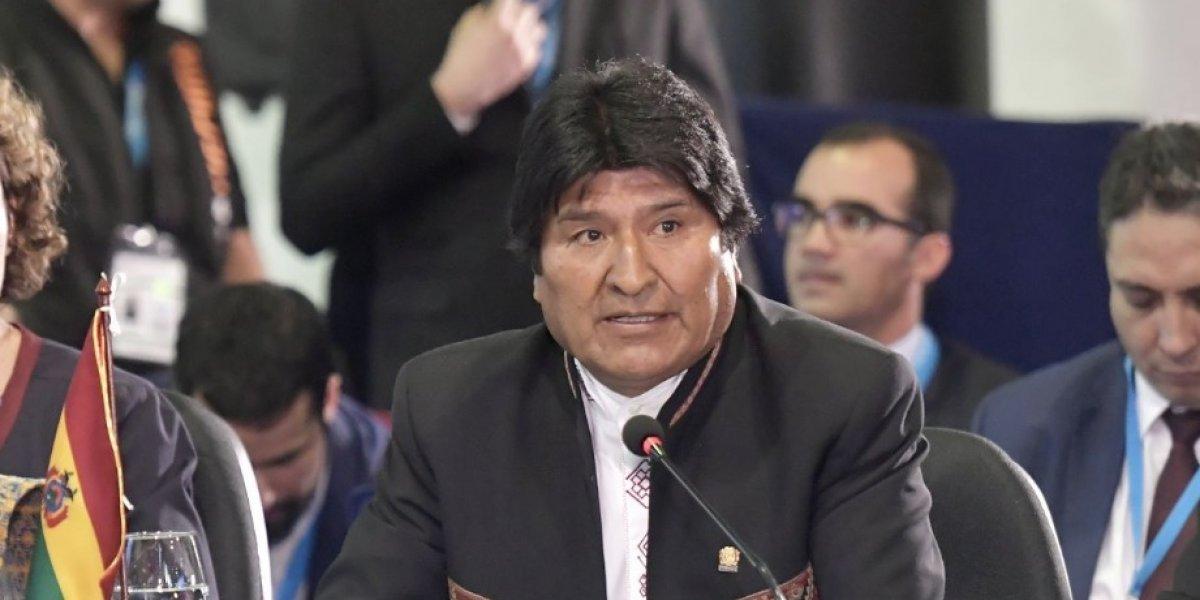 """Justo cuando reconoció que no quiere dejar el poder, Evo se acordó de Chile: """"El mar no es un tema resuelto"""""""