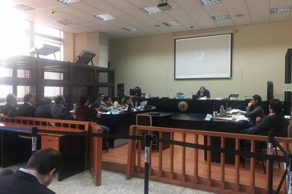 """Audiencia por el caso """"Ejecuciones extrajudiciales""""."""