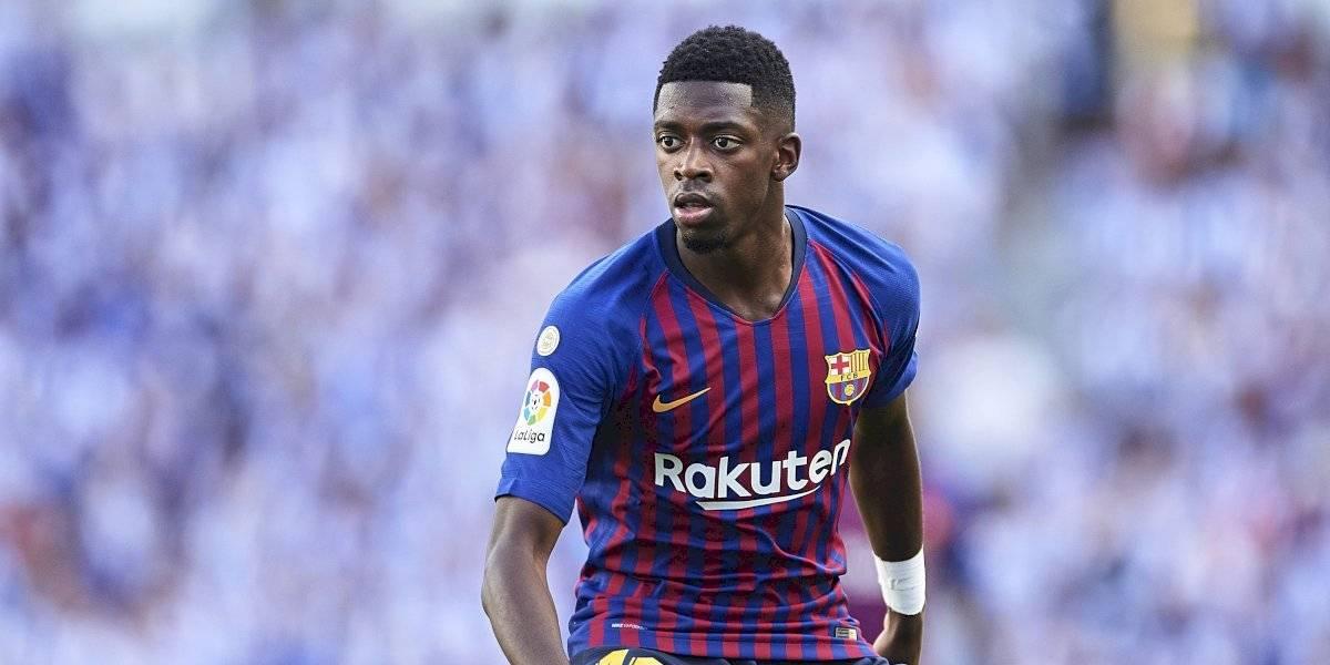 Ousmane Dembélé estará fuera 5 semanas por lesión