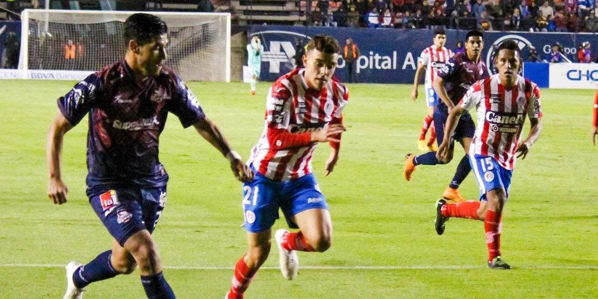 San Luis y Cimarrones protagonizan tedioso empate en cuartos de final
