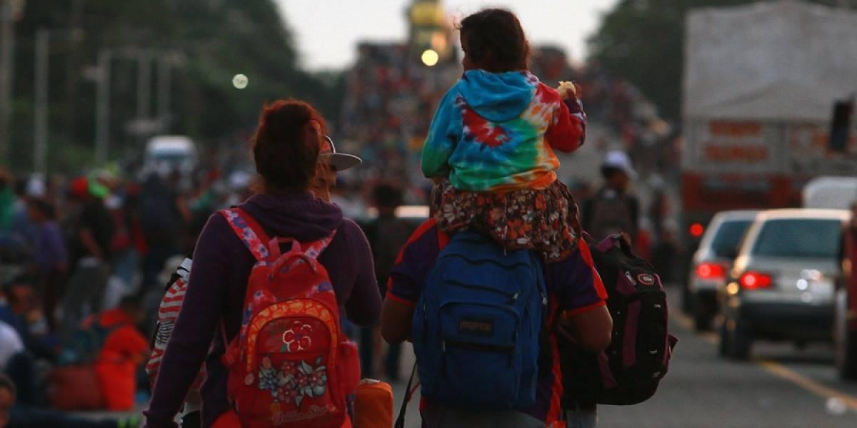 EE. UU. dice que caravanas deberán esperar en México
