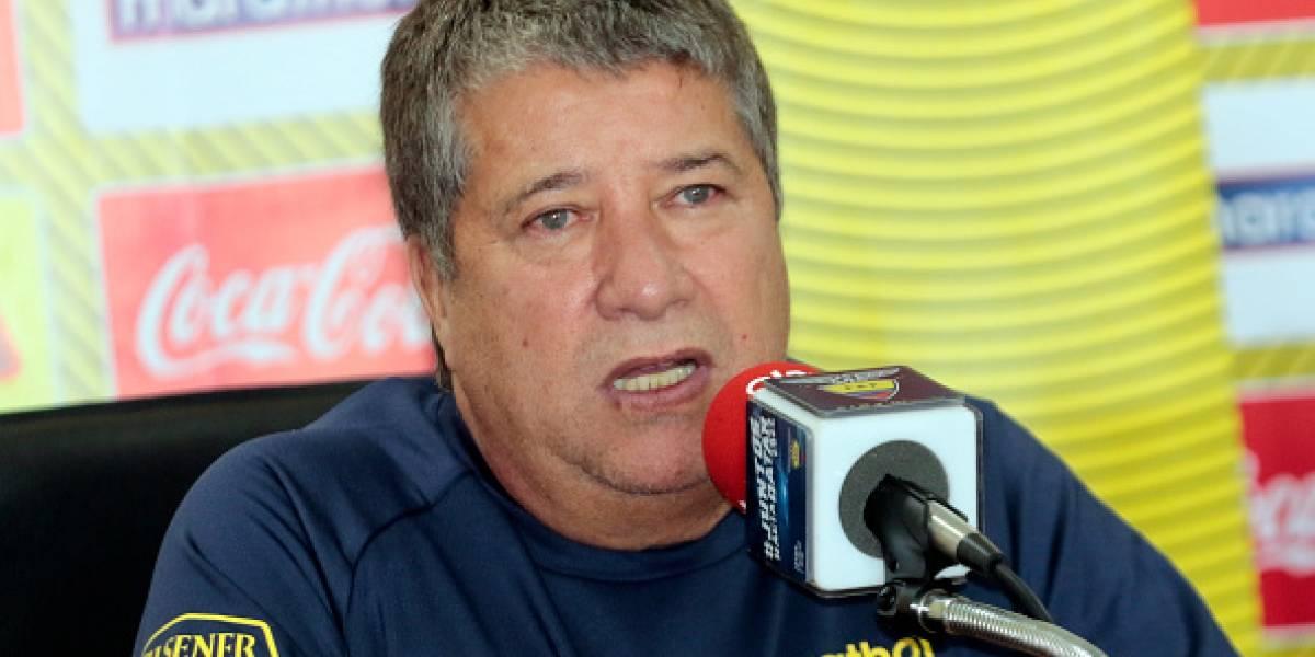 """'Bolillo' Gómez: """"Mi contrato es para la eliminatoria, no para jugar la Copa América"""""""