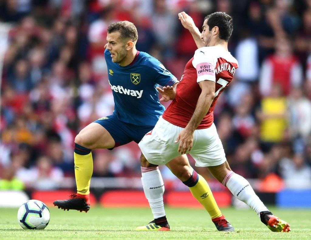 Wilshere fue uno de los grandes fichajes del West Ham de Pellegrini para enfrentar la temporada 2018-2019 / Foto: Getty Images