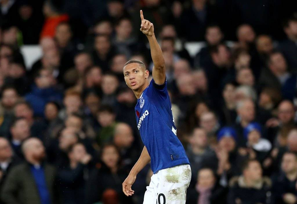 Richarlison, del Everton, ha sido la gran aparición de Brasil post Rusia 2018 / Foto: Getty Images