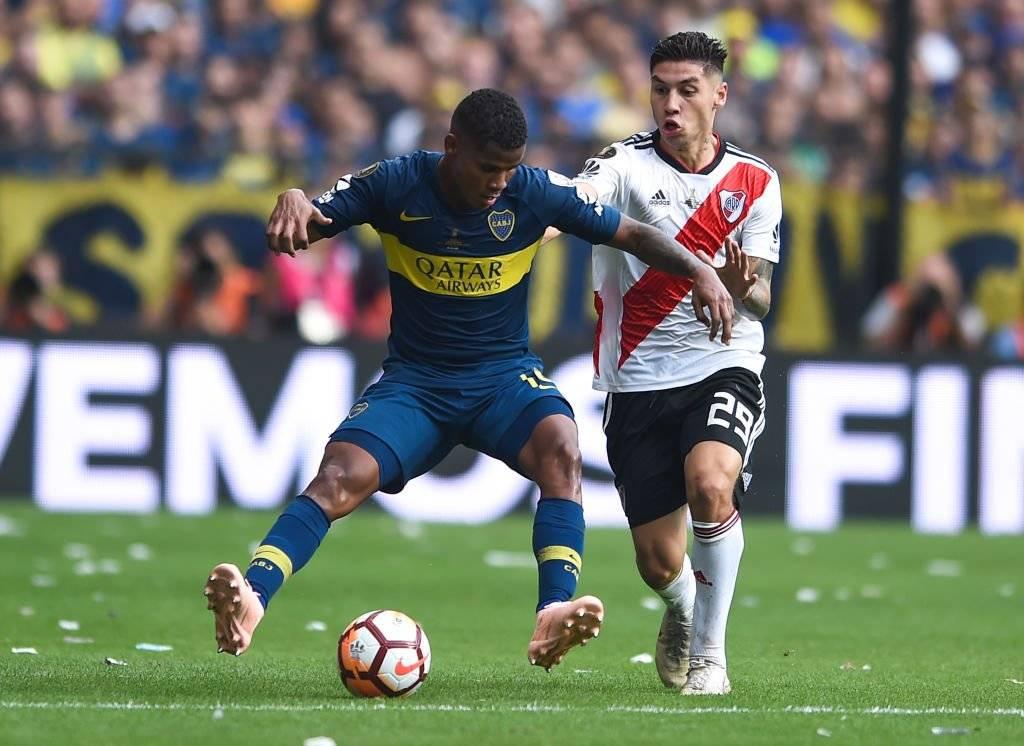 Wímar Barrios, figura en Boca Juniors, está llamado a consolidarse en Colombia / Foto: Getty Images
