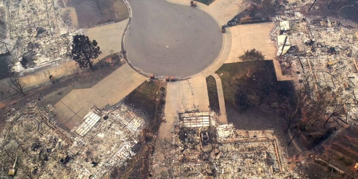 El más mortífero de la historia: incendios en California ya supera la cifra de 600 desaparecidos