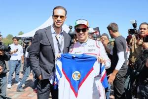 Zague y Checo Pérez