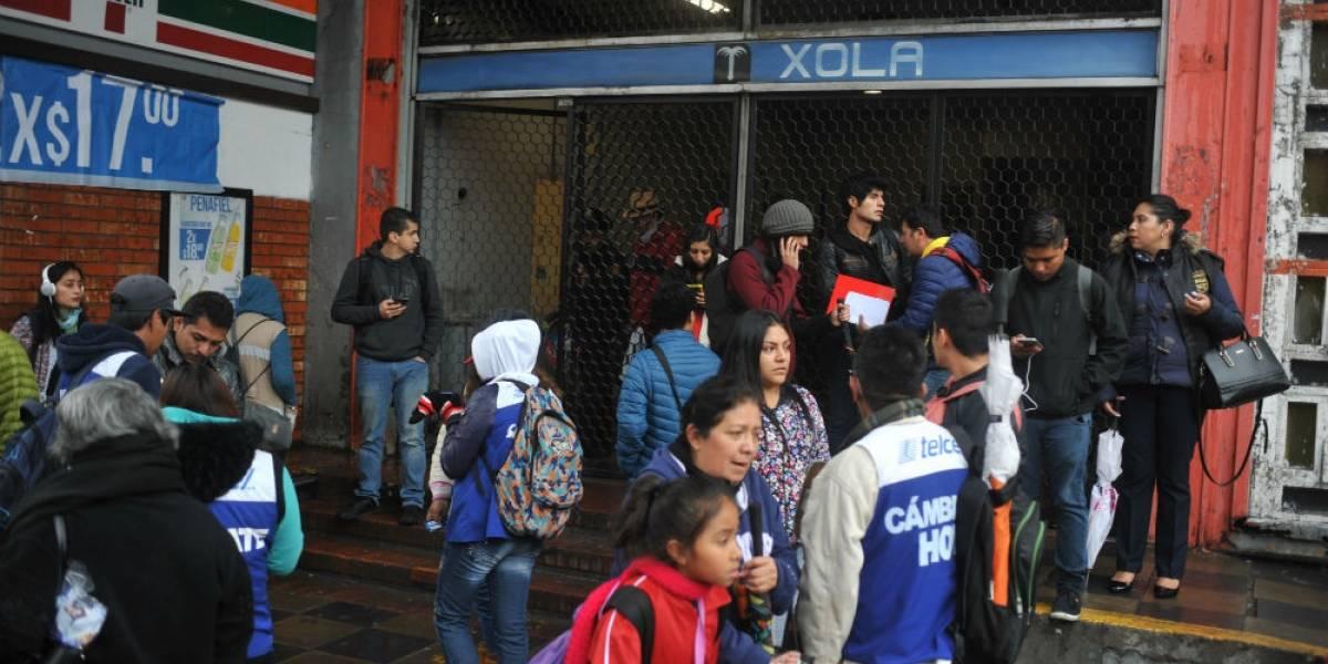 Tras dos días de caos, Línea 2 del Metro opera con normalidad