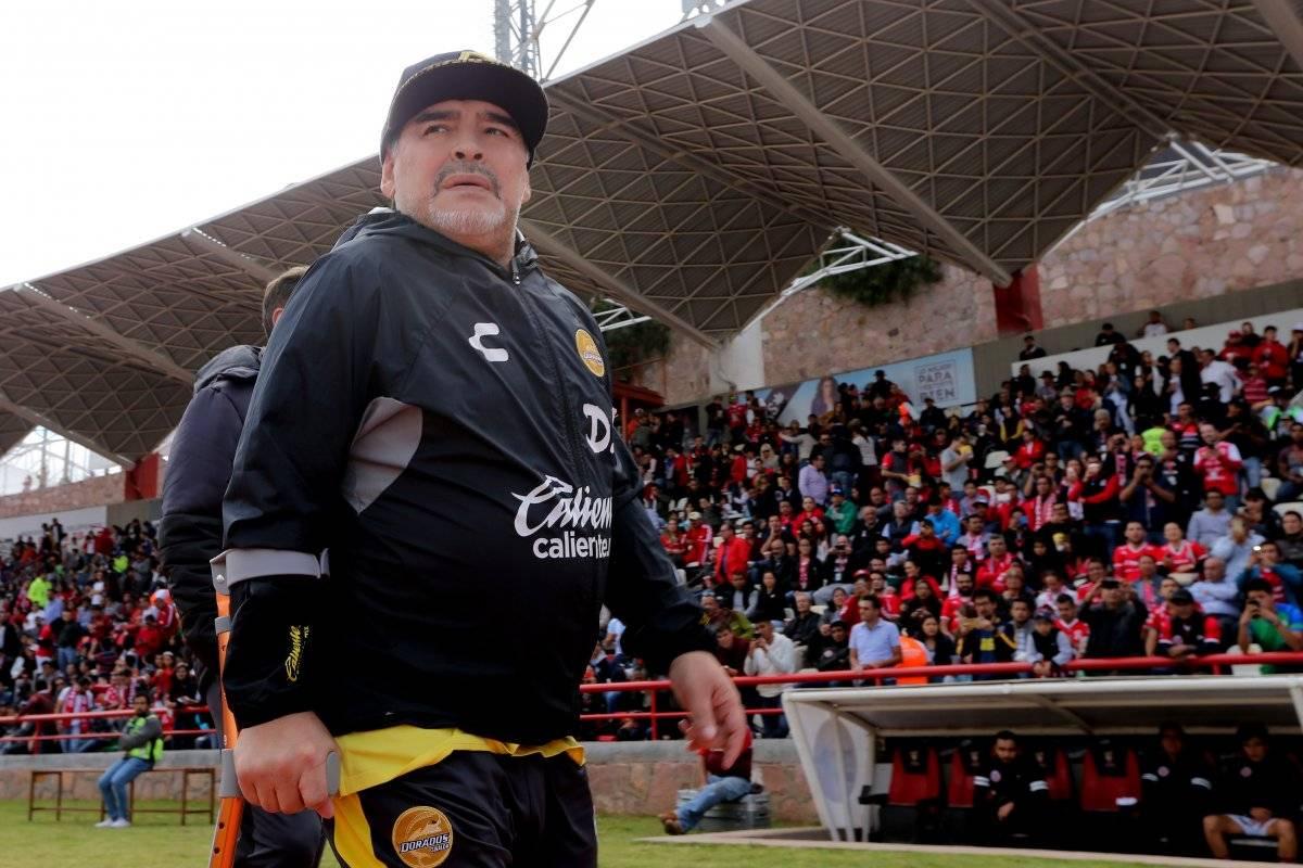 El argentino arremetió contra el arbitro del partido ante San Luis Getty images