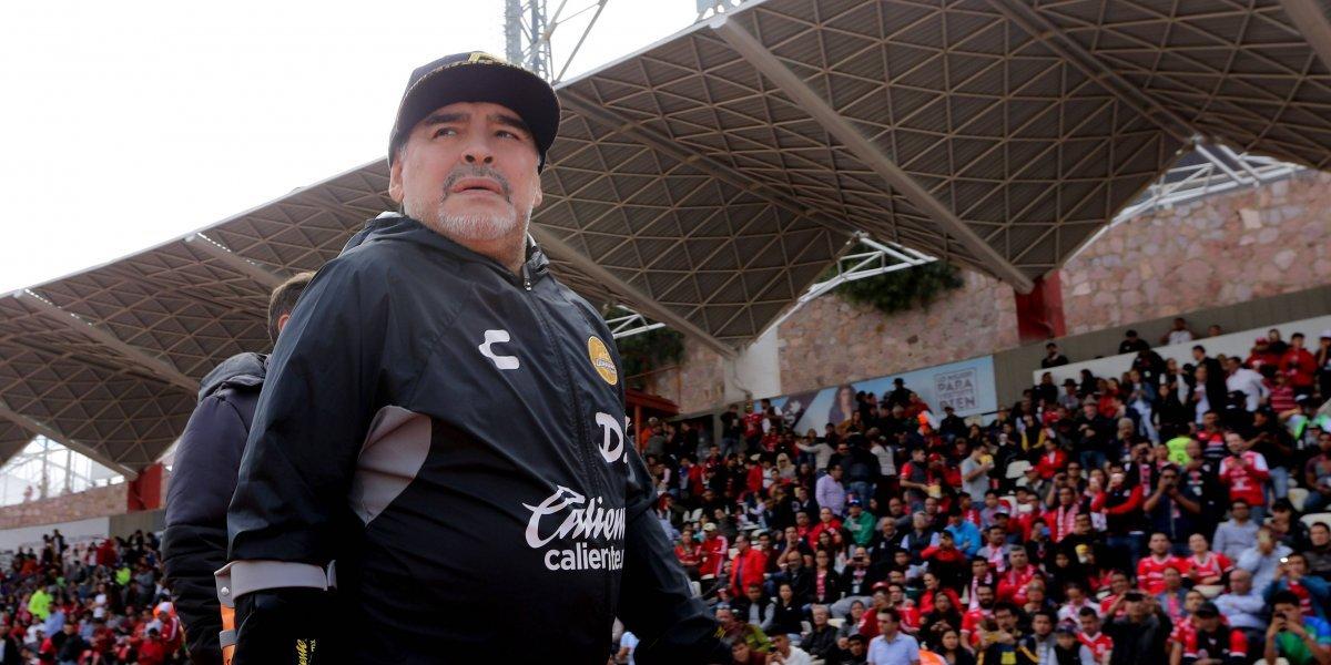 Maradona no estará con Dorados en la vuelta de los cuartos de final por suspensión