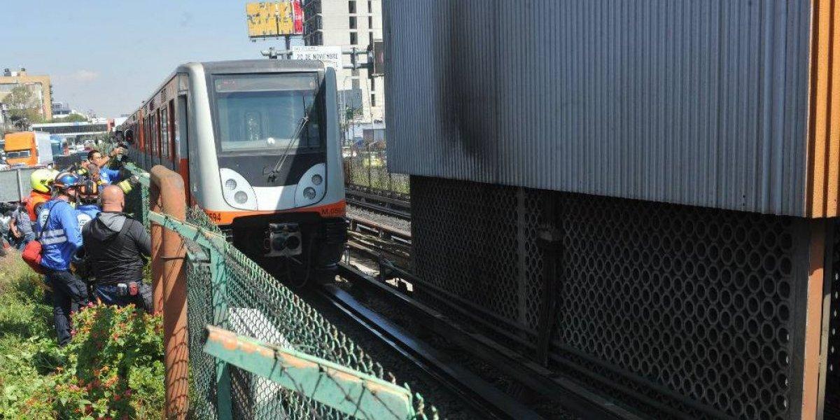 Amieva justifica fallas en el Metro por falta de recursos federales