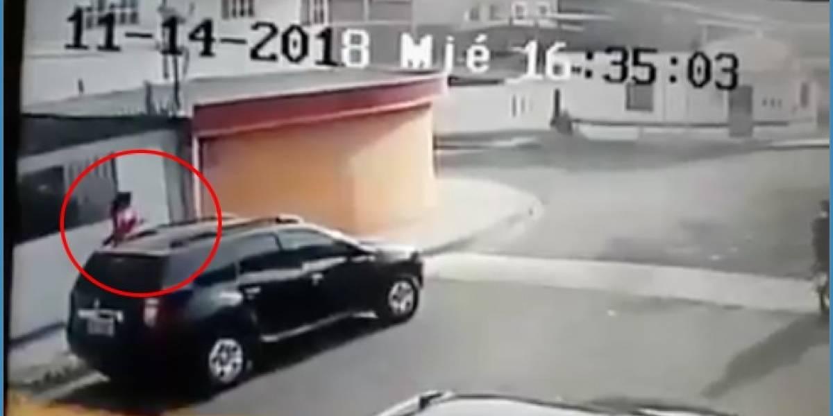 Mujer es detenida al quedar grabada en un intento de asalto en Manabí