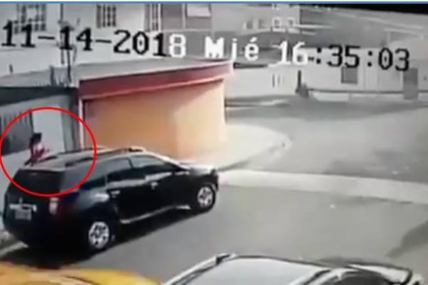 Mujer detenida al quedar filmada en un intento de robo en Manabí