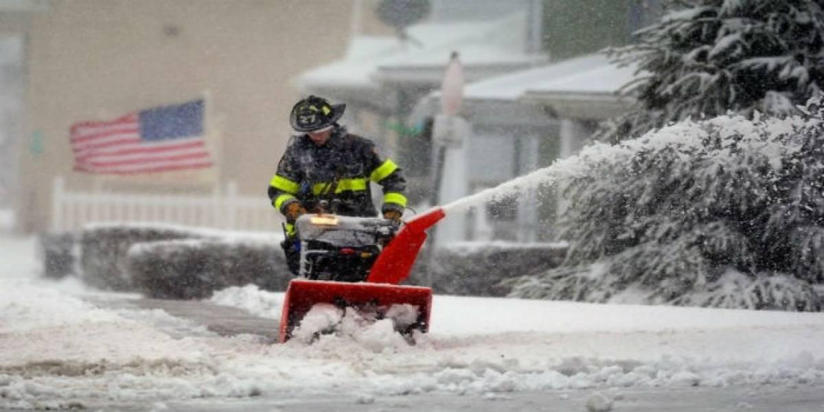 Tormenta de nieve en EE.UU. deja cinco muertos en las carreteras