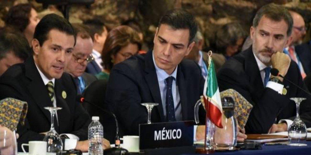 Migrantes tienen derechos, pero también deben acatar las leyes: Peña Nieto